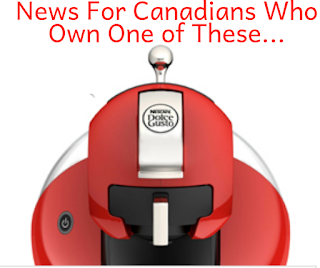 Necafe  Dolce Gusto Is Leaving Canada