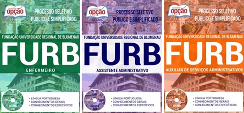 Apostila concurso FURB 2017