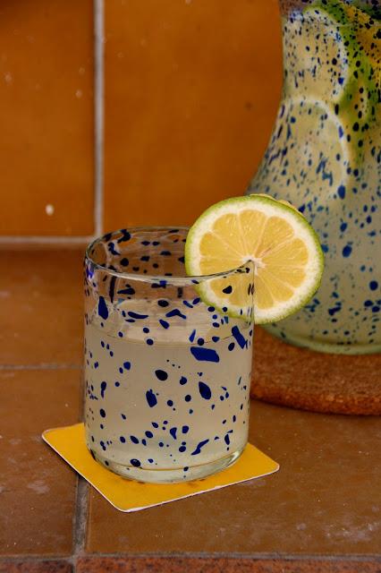Refresco sano de limon casero