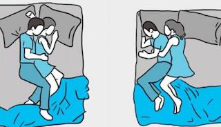Τι μαρτυρά για τη σχέση σας ο τρόπος που κοιμάστε με τον σύντροφό σας;
