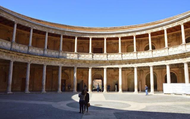 Alhambra palacio Carlos V