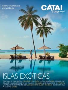 Catálogo de hoteles Islas Exóticas 2018