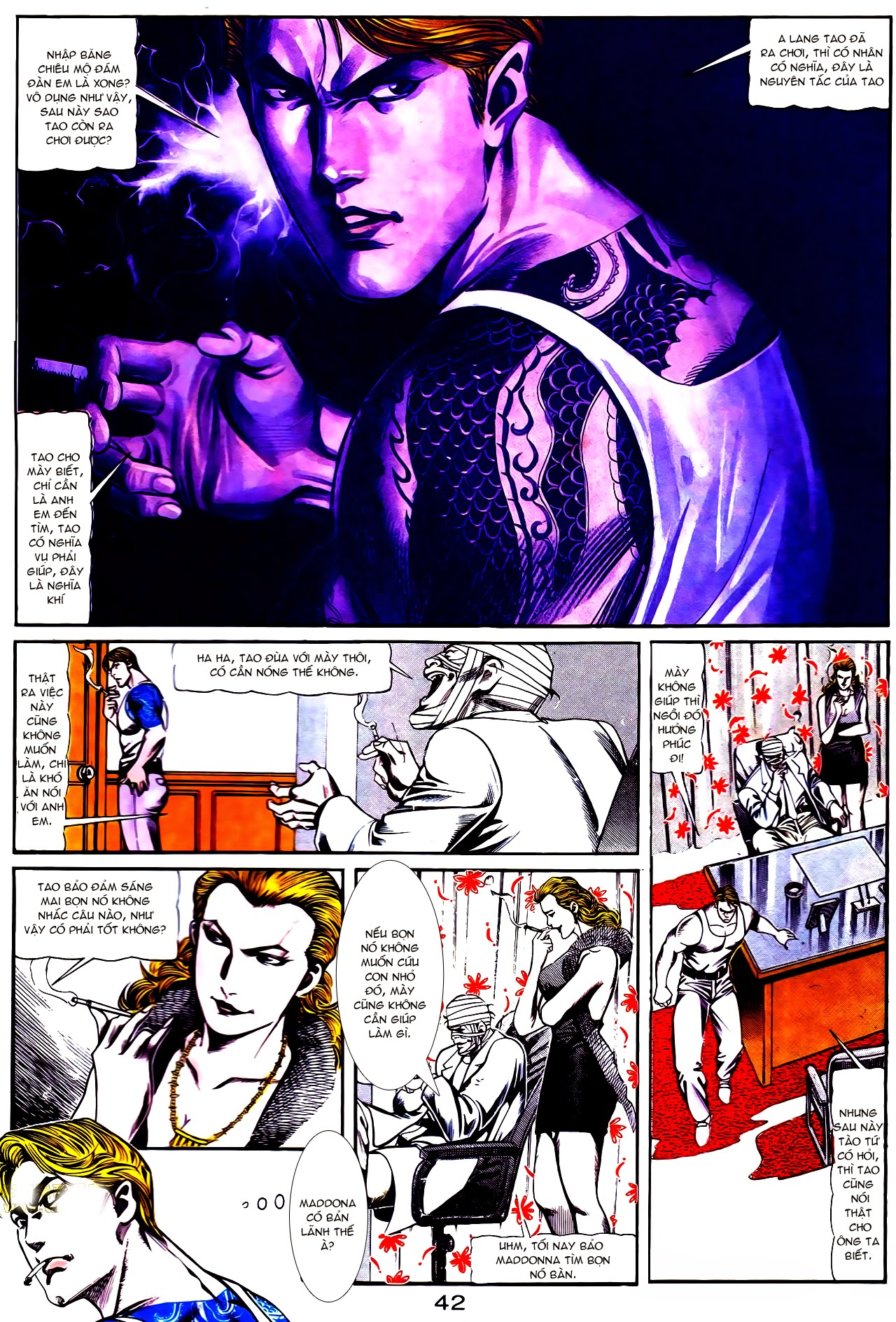 Người Trong Giang Hồ chapter 112: nhân sinh trang 13