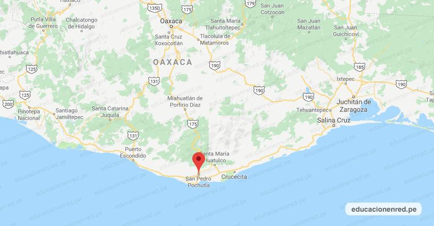 Temblor en México de Magnitud 5.4 (Hoy Sábado 23 Noviembre 2019) Terremoto - Sismo - Epicentro - San Pedro Pochutla - Oaxaca - OAX. - SSN - www.ssn.unam.mx