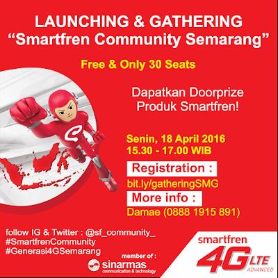 Launching & Gathering Smartfren Community Semarang