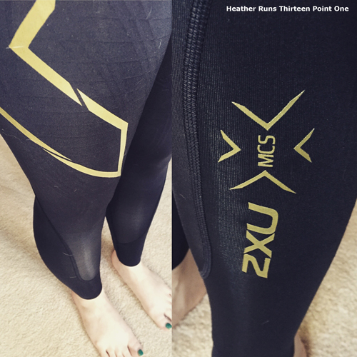 1bfe37de24 Heather Runs Thirteen Point One: 2xu elite mcs compression tights ...