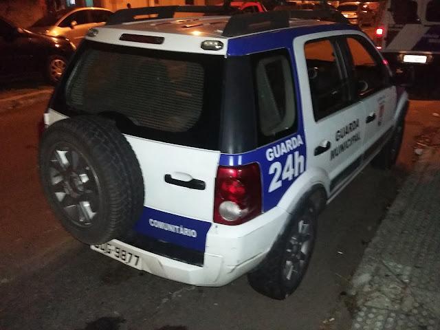 Indivíduo é detido pela Guarda Civil Municipal de Vitória (ES) após roubar casal adiante do Hospital Infantil