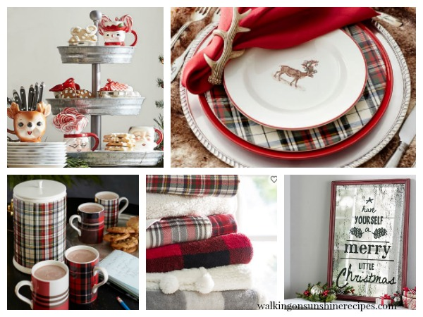 Christmas Gift Guides for the Home and the Kitchen from Walking on Sunshine Recipes.