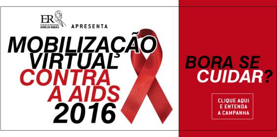 Hospital Emílio Ribas lança Mobilização Virtual contra a Aids 2016