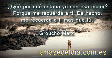 Postales con Frases Groucho Marx