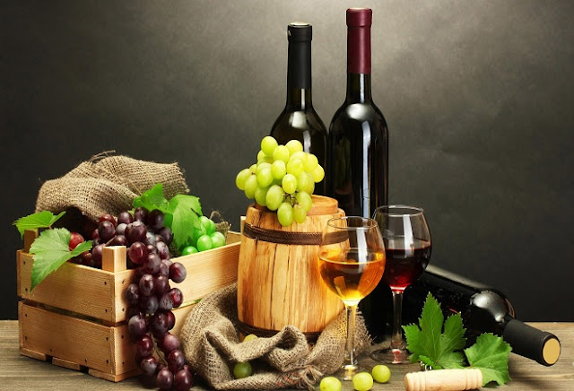 WINE KEEPS YOU HAPPY AND HEALTHY