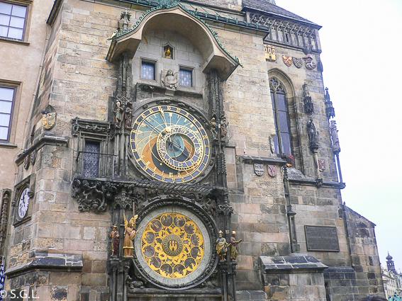 Reloj astronomico Praga. Recorrido por las ciudades imperiales