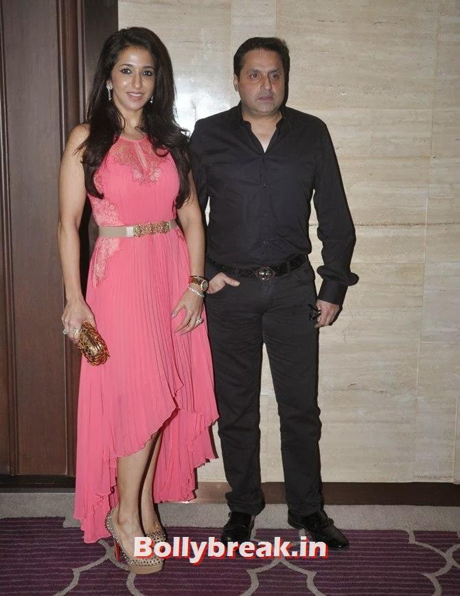 Krishika Lulla with husband Sunil, Bollywood Stars Attend Asin's birthday bash