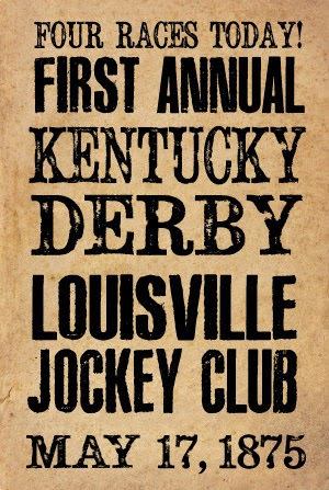 Image result for first running of the kentucky derby