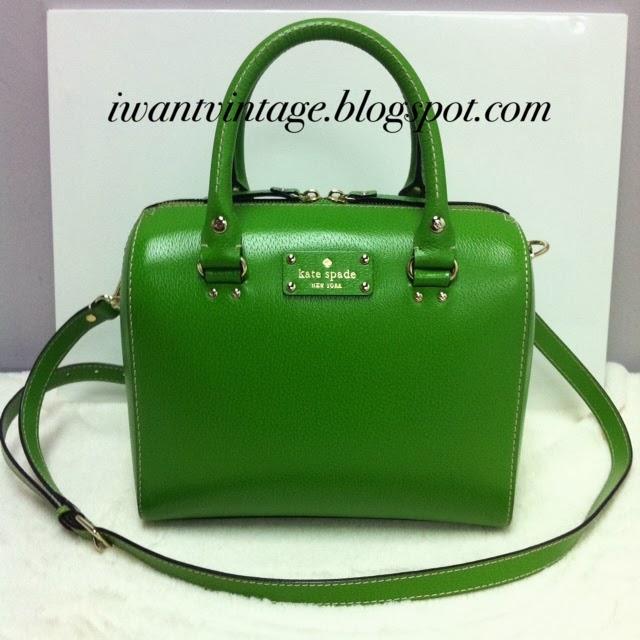 caaccd854189e Kate Spade Wellesley Alessa in Emerald