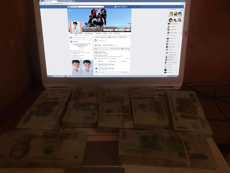 Share 2 psd mockup máy tính và tiền tỷ cho anh em sống ảo