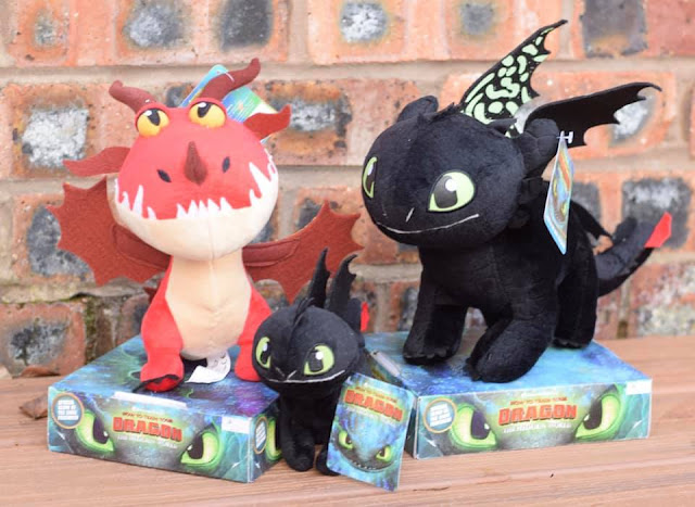 Posh Paws How to Train Your Dragon soft toys