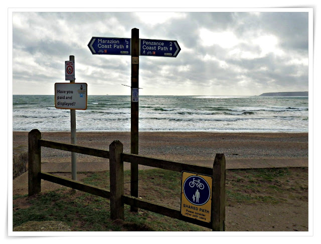 coastal path Marazion to Penzance, Cornwall