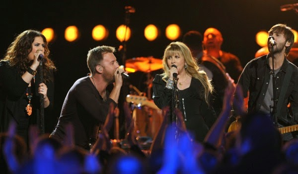 Stevie Nicks joins Lady Antebellum for Academy of Country Music Awards