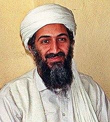 أسامة بن لادن مؤسس وزعيم تنظيم القاعدة السابق