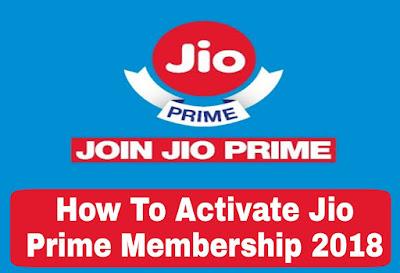 Jio Prime Membership 2018 Free Me Activate Kaise Kare