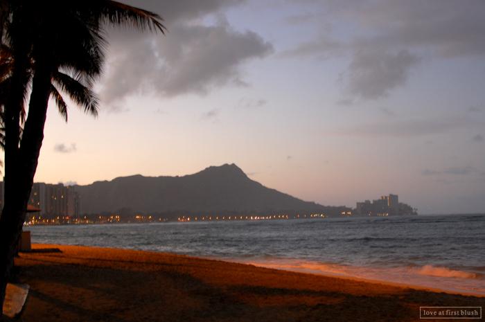 sunset beach on honolulu hawaii