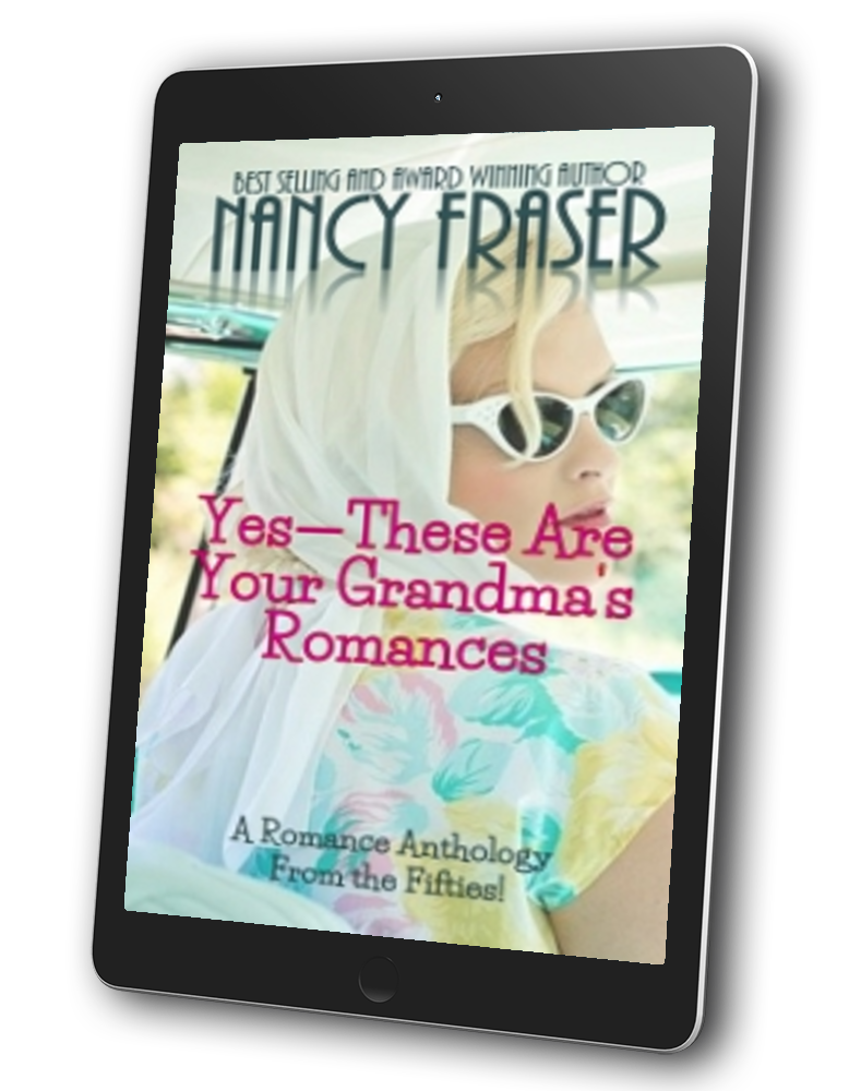 NANCY FRASER: Jumping across romance genres with gleeful abandon