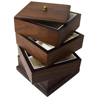 Shop Nile Corp Wholesale Wooden Swivel Jewelry Organizer Box