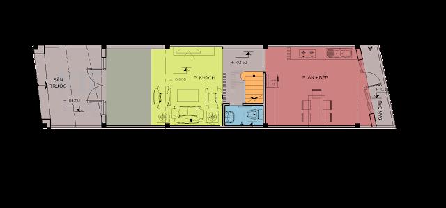 Phương án thiết kế nhà phố quận 12