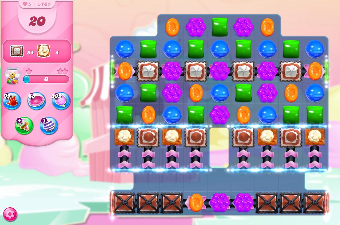 Candy Crush Saga level 5107
