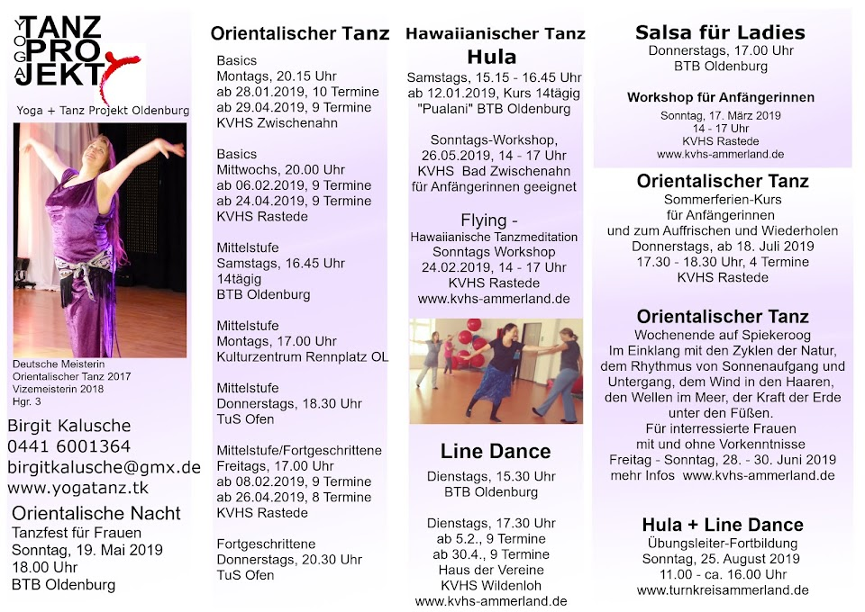 Yoga Tanz Projekt Oldenburg