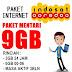 PAKET MENTARI 9 GB MASA AKTIF 3 BULAN