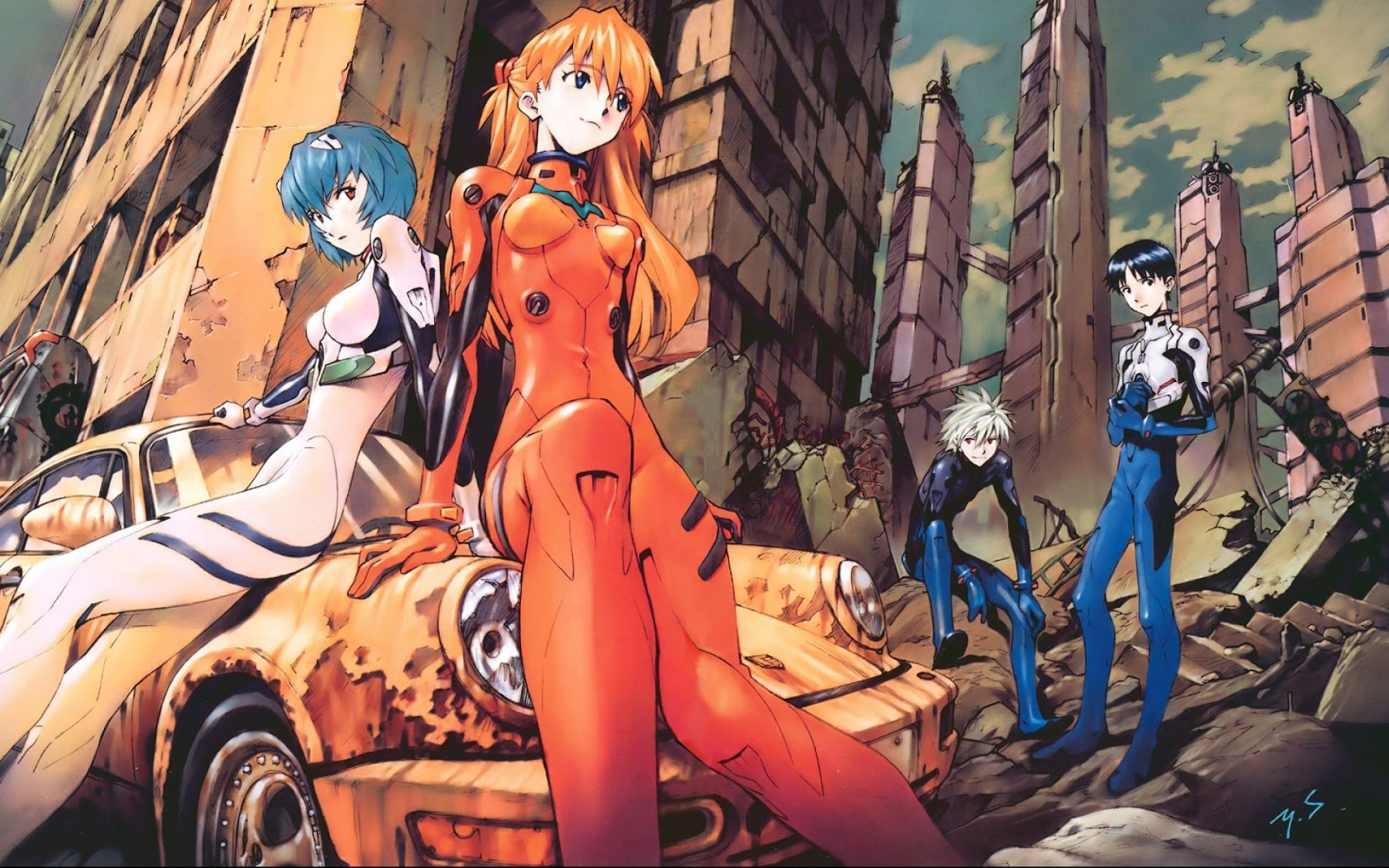 Shin Evangelion Reveals First Visual From The New Anime Film.