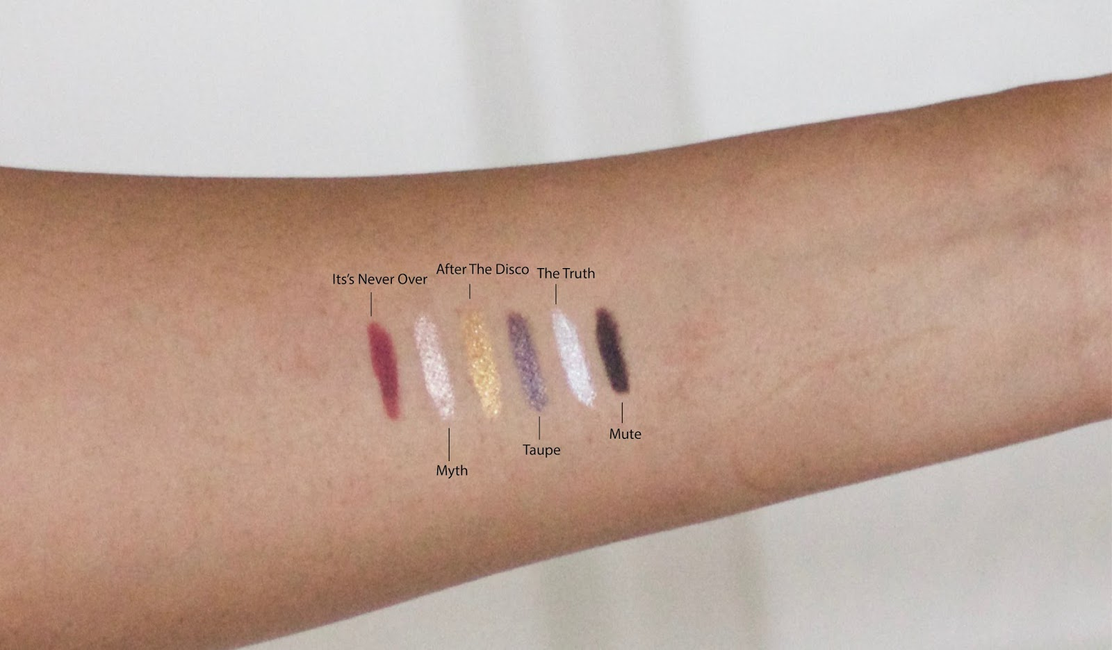 Zoeva Graphic eyes swatches