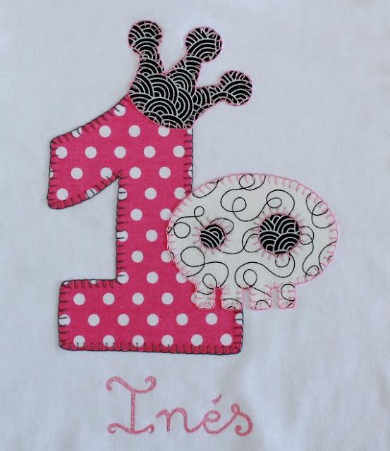 camiseta cumpleaños 1 año calavera