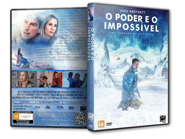 Capa DVD O Poder E O Impossível [Exclusiva]
