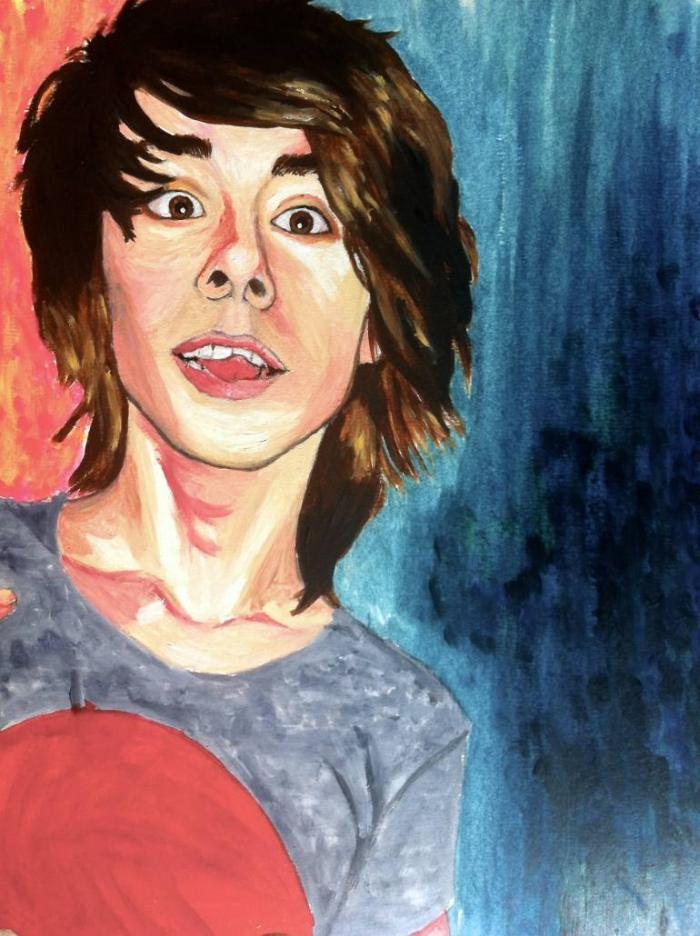 Молодая австрийская художница. Silvia Knodlstorfer 5