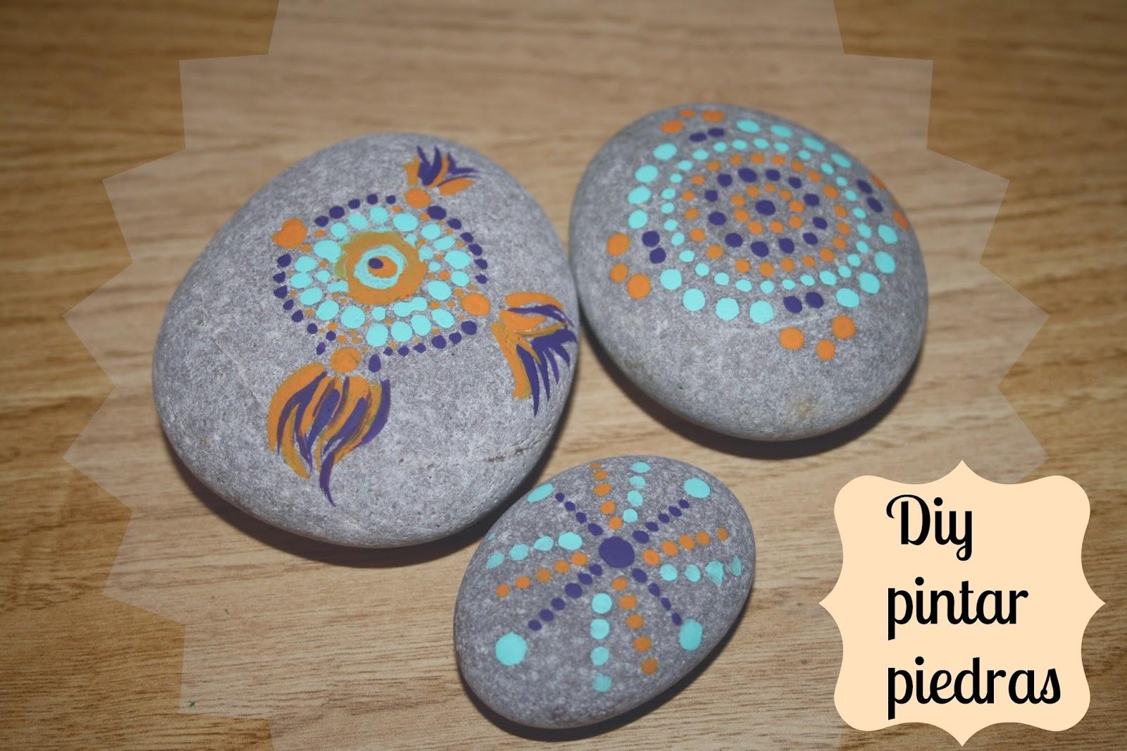 Diy piedras pintadas for Donde conseguir piedras para pintar