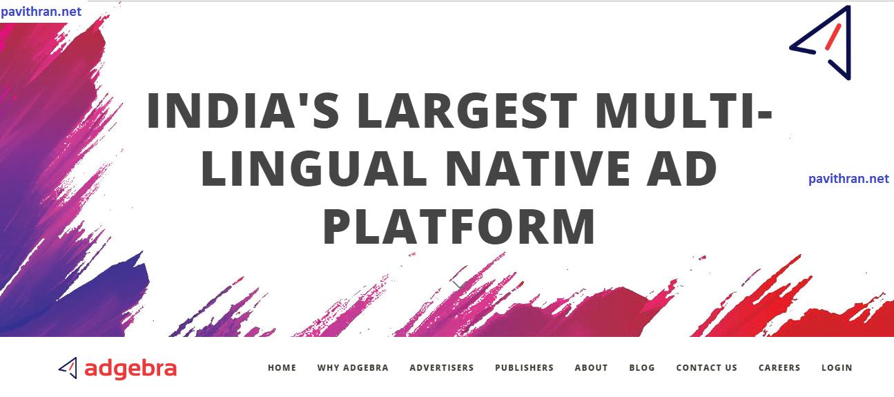 Adgebra ad network