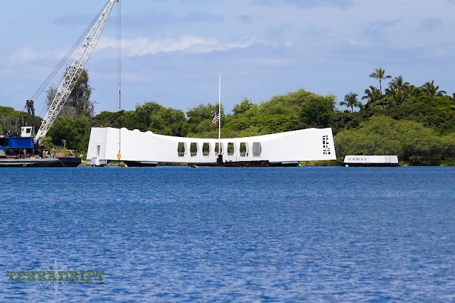 The U.S.S. Arizona Memorial is a free tour available at the Pearl Harbor Historic Site