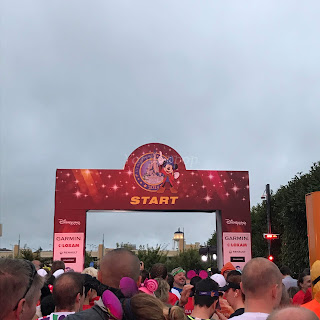 Disneyland Paris Magic Run 2018 depart semi