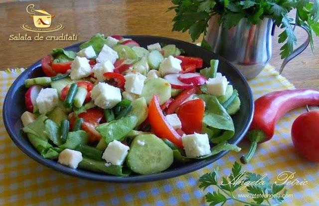 Reteta salata de cruditati