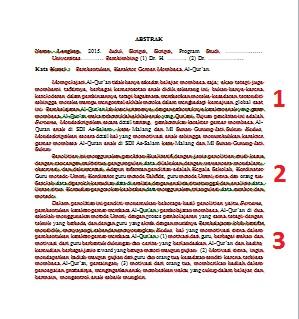 penulisan tesis yang baik