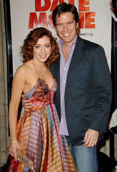 Alyson Hannigan And Alexis Denisof Buffy MY FAVORITE THI...