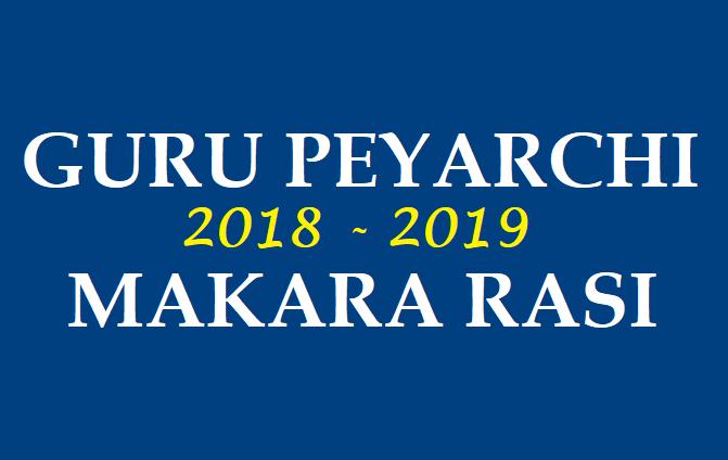SECRETS OF HOROSCOPE: GURU PEYARCHI PALANGAL FOR MAKARA RASI 2018