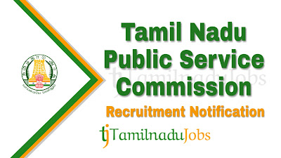 TNPSC Recruitment notification 2019, Govt jobs for post graduate