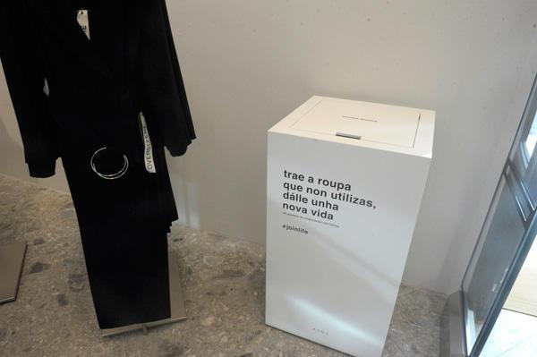 Puntos de recogida ropa caritas