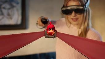 لأول مرة لعبة Angry Birds بتقنية الواقع المختلط