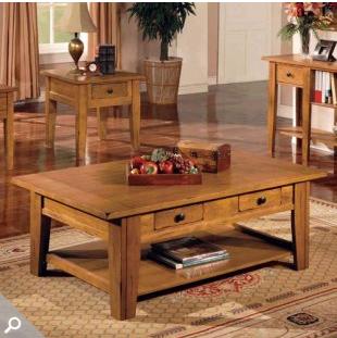 Pottery Barn Camden Reclaimed Wood Coffee Table Decor Look