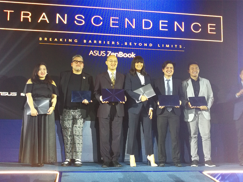 ASUS launched ZenBook 3 Deluxe In Collaboration With Isabelle Daze & Rajo Laurel